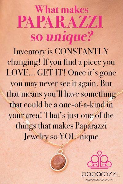 what makes paparazzi $5 jewelry so unique
